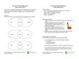 take home activity handouts for preschool science programs alsc blog