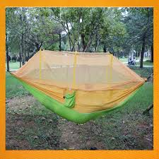 gbjy 281 high quality nylon material double camping hammock with