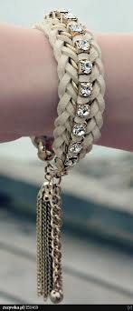 braided leather chain bracelet images 2844 best leather made of leather ideas for leather etc images jpg