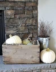 Fireplace Decor 25 Best Fall Fireplace Decor Ideas On Pinterest Autumn