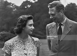 princess margaret and king george vi at windsor pictures getty