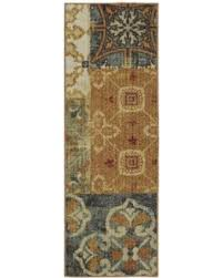 Mohawk Runner Rug Bargains On Mohawk Home Soho Harmonic Patch Multi Runner Rug 1 8