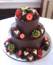 gourmet cakes chocolate wedding cake with fruits gourmet chocolate dipped