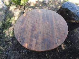 antique barnwood round dining table 36 inches 3 4 person mt