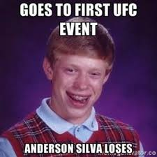 Anderson Meme - total pro sports 27 funny anderson silva knockout memes and images