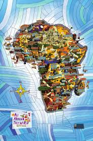 africa map what you teach your matters