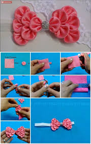 how to make hair bows how to make kanzashi hair bow usefuldiy