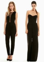 express black jumpsuit layered mesh top jumpsuit express style i