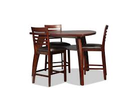 astoria counter height 4 piece dinette levin furniture