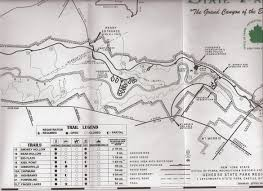 Joshua Tree Campground Map Hiking Trails At Letchworth State Park