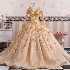 gold wedding dresses gold sleeves wedding dresses gowns lace embroidery