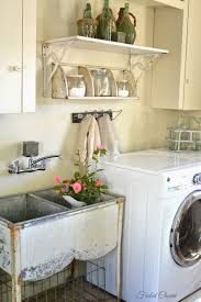 faded charm laundry room essentials old galvanized sink