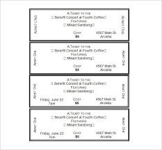 ticket samples template event ticket templates make your own