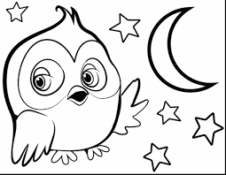 impressive cute owl coloring pages with owl coloring page