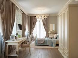 bedroom curtains ideas for with nice green color and simple
