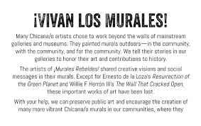 siege social cultura exhibition murales rebeldes