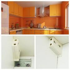 2 pcs wall hanging bracket hanger plate fot hanger kitchen cabinet