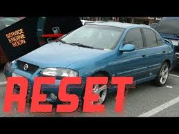 service engine soon light nissan sentra how to reset service engine soon light on a 2003 nissan sentra