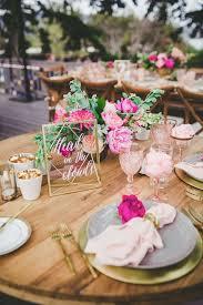 table decor 14 geometric wedding table decor ideas the bohemian wedding