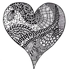 zentangle inspired art printable coloring pages by joartyjo