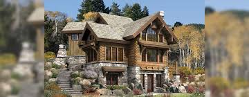 Home Plan Com by Targhee Log Home Plan