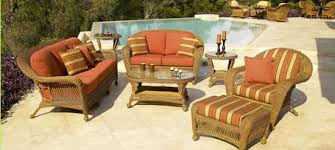 Cushions For Wicker Patio Furniture Wicker Patio Cushions Darcylea Design