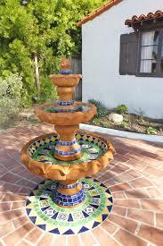 Mexican Tile Bathroom Ideas Ole Hanson Historic Home Fountain Design Using Using Mexican