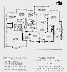 bedroom top 4 bedroom 1 story house plans amazing home design