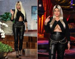 miley cyrus halloween costume nicki minaj vs ellen degeneres photos stars on halloween 2013