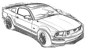 coloring pages of lowrider cars ford mustang car 2009 coloring pages best place to color