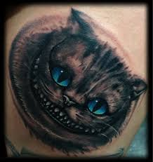 55 awesome cheshire cat tattoos