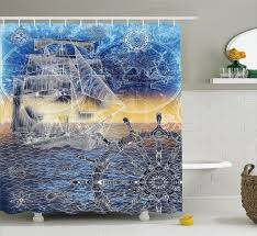 bathroom attractive nautical shower design crafted