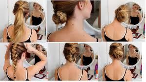 Hochsteckfrisuren Ganz Einfach by Haartutorial 6 Einfache Und Schnelle Flecht Frisuren