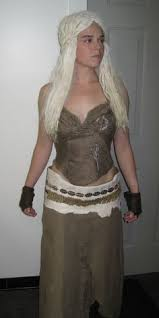 Game Thrones Halloween Costumes Daenerys Daenerys Targaryen Khal Drogo Khaleesi Cosplay Game Thrones