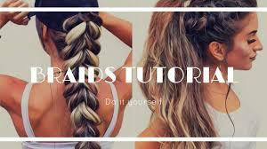 cute u0026 easy braided hairstyles for of the week 2017 youtube