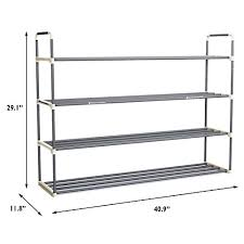 Closet Storage Bench 24 Pairs Shoe Rack Organizer Storage Bench U2013 Organize Your Closet