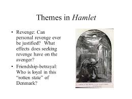 Seeking Theme The Tragedy Of Hamlet Prince Of Denmark Ppt