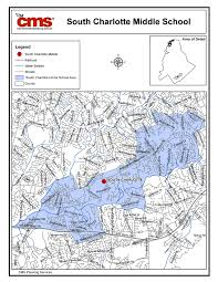 Charlotte Map South Charlotte Middle Boundary Map
