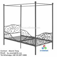 Metal Canopy Bed by Canopy Bed Frame Canopy Bed Frame Suppliers And Manufacturers At