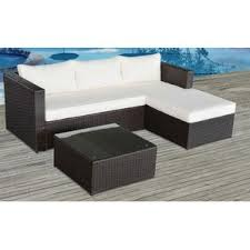 Outdoor Patio Furniture Sectional Outdoor Patio Sectional Sofas Loveseats Wayfair