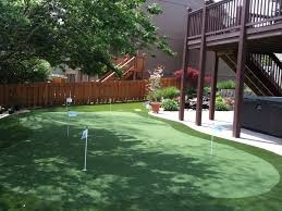 st louis missouri artificial putting green installation