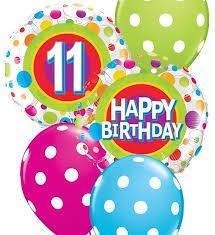 birthday balloon bouquet 11th birthday balloon bouquet party fever