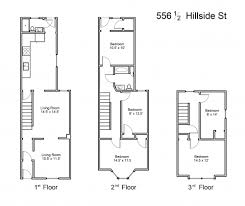 hillside floor plans 556 1 2 hillside ave apt 1 cus hill lehigh