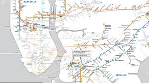 Brooklyn Subway Map by Here U0027s Your New Subway Map Nyc Animal