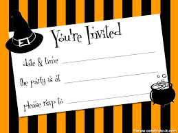 free printable halloween birthday invitations u2013 festival collections