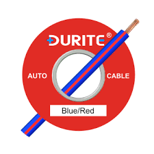 0 932 25 durite 1mm blue red electric cable 16 5a