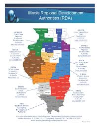 Map Of Central Illinois by Regional Bond Authority Map Western Illinois Economic