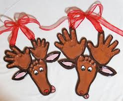 reindeer hands and foot impression 75 amy stone
