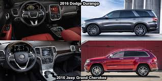 jeep grand or dodge durango benim otomobilim 2016 dodge durango vs 2016 jeep grand