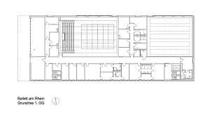 gallery of ballet am rhein gmp architekten 13 architectural